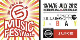 5fm Music Festival at the Billabong Pro 2012
