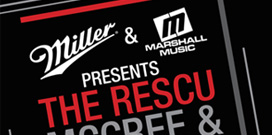 Miller & Marshall Music Presents: The Rescu, McCree & Juke Royal